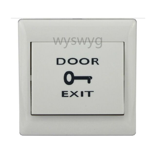 Door Exit Button Push Release Plastic Switch 12V - 36V a part of Access Control  sc 1 st  eBay & Door Exit Button Push Release Plastic Switch 12v - 36v a Part of ...