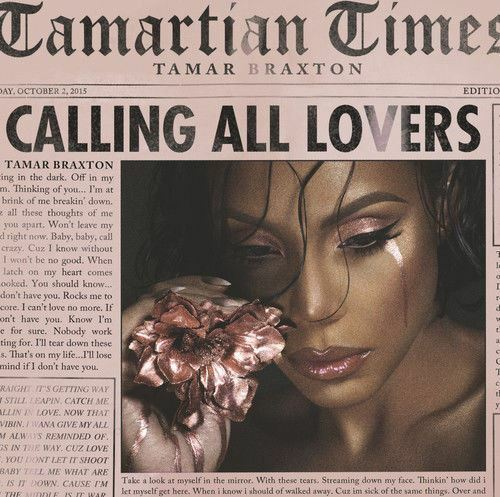 Tamar Braxton - Calling All Lovers (DELUXE EDITION) - CD Album Damaged Case
