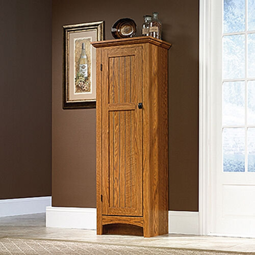 Sauder 401867 Summer Home Carolina Oak 3 Shelf Pantry Bookcase