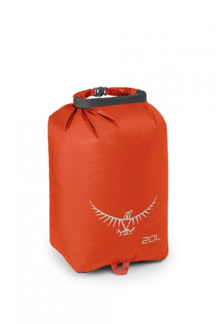 Osprey Ultralight DrySack 20 Reisetasche Reiseaccessoire Tasche Poppy Orange