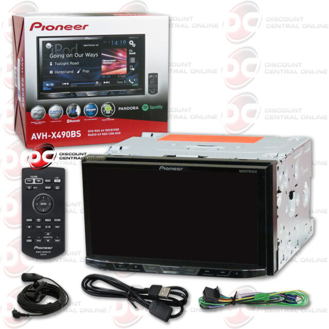 "2016 Pioneer Double DIN 2din 7"" Touchscreen Car DVD CD"