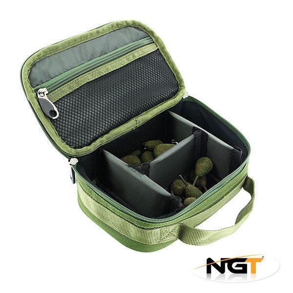 New NGT 207 Rigid Carp Fishing Lead Weight Bag Holdall
