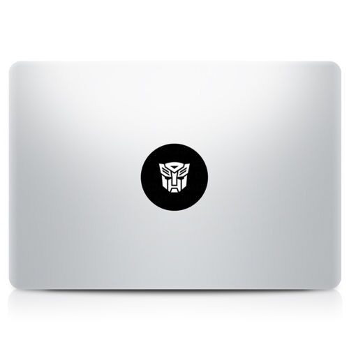 Apple transformers vinyl sticker mac book air retina laptop decal 11 13 15 17