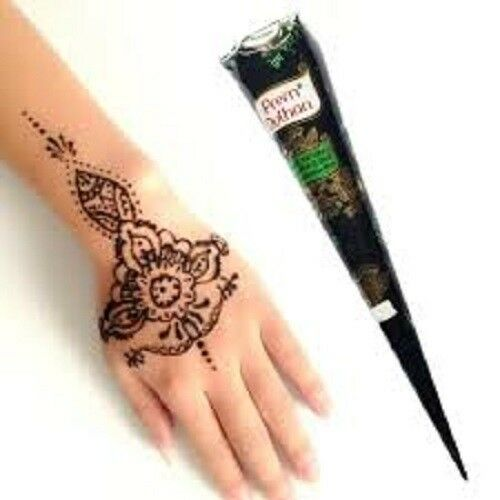 What Stores Sell Henna Tattoo Ink: 1 Natural Prem Dulhan Brown Temporary Tattoo Mehendi Henna