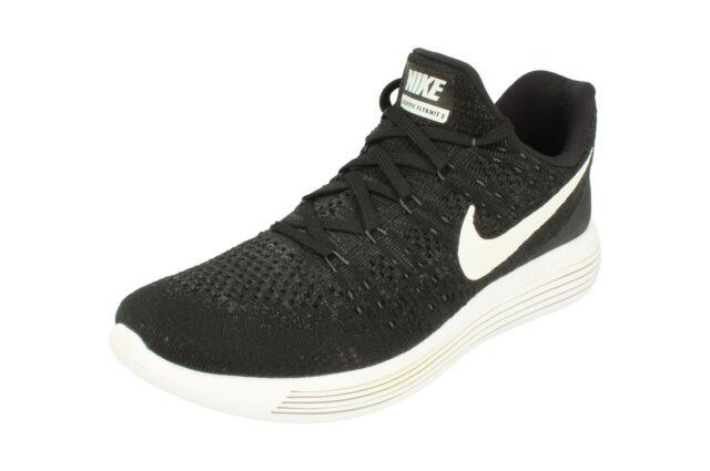 Nike LUNAREPIC Basse flyknit uomo corsa leggera Scarpe da Ginnastica Grigio