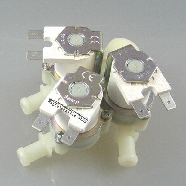 """3-fach Elektro-Magnetventil 3/4"""" AG NC -->10mm, RMV-353-NC-230V/AC"""
