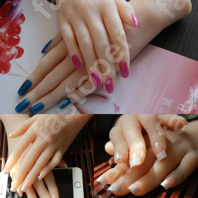 1 Pair Top Quality Realistic Silicone Hand Female Girl Displays ...