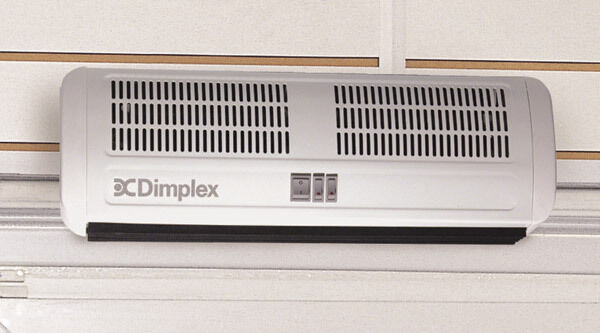 Dimplex AC3N 3Kw Air Curtain Over Door Fan Heater Indoor Curved Warm Shop  3500W