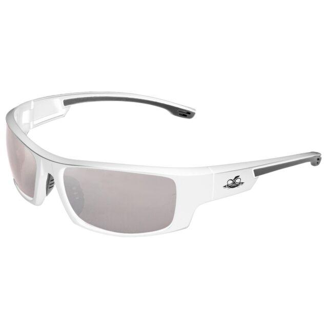 Bullhead BH9187 Dorado Safety Glasses White Frame Silver Mirror Lens ...