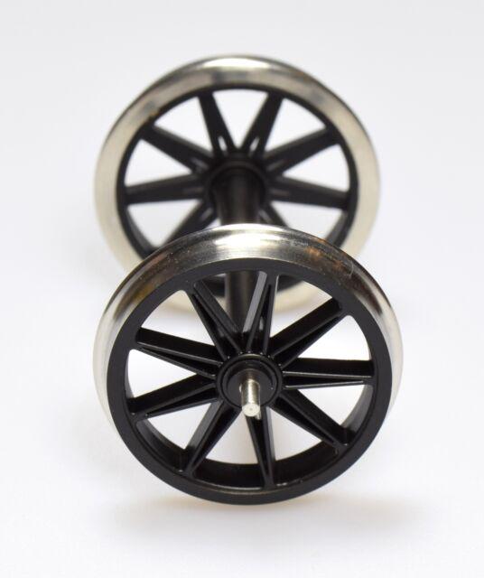 Dingler 1 Meter Speichenradsatz schwarz NEM 1:32 (1Z-182/01)
