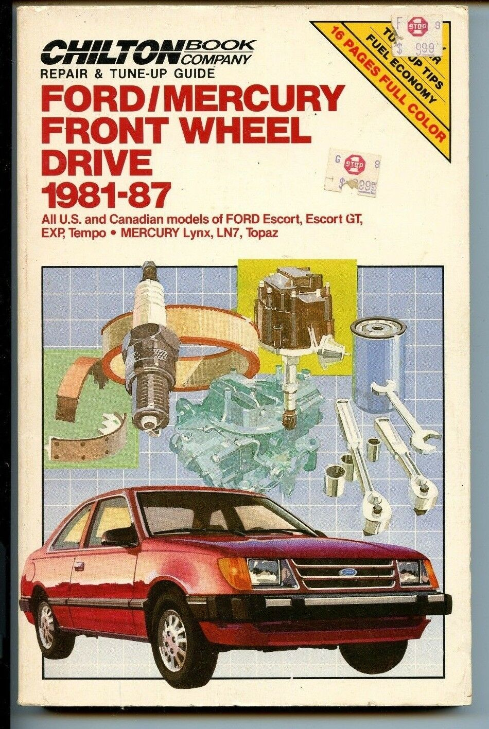 Chilton ford mercury front wheel drive 1981 1987 by w calvin settle chilton ford mercury front wheel drive 1981 1987 by w calvin settle and richard j rivele 1987 paperback ebay fandeluxe Images