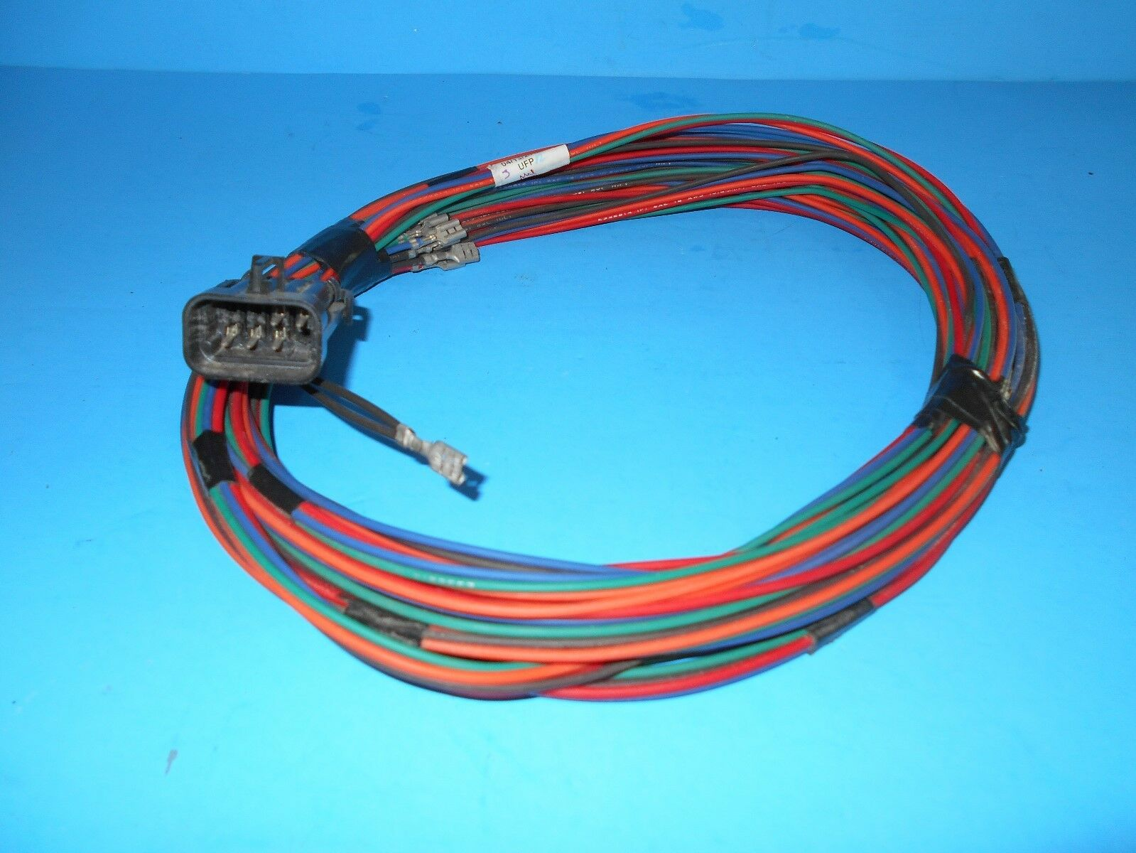 s l1600 onan rv generator remote panel wire harness 25 ft with 8 pin plug 8 pin wire harness at soozxer.org