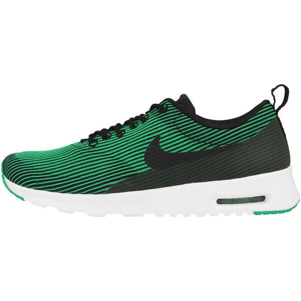 Nike Air Max Thea Lavorato A Maglia Jacquard Donna Scarpe Sneaker Black
