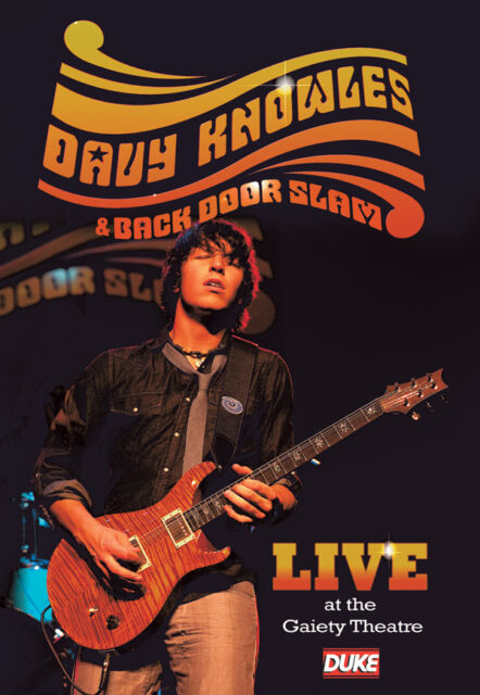 Davy Knowles & Back Door Slam - Live At The Gaiety 2009 DVD NEW