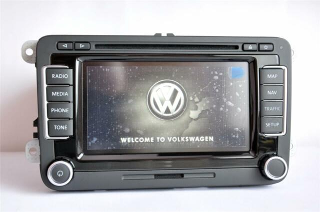 2015 vw rns 510 e led ssd dab sat nav navigation v12 caddy. Black Bedroom Furniture Sets. Home Design Ideas
