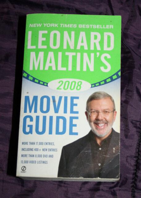 leonard maltin s movie guide 2008 by leonard maltin 2007 paperback rh ebay com leonard maltin movie guide 2018 leonard maltin movie guide complete online