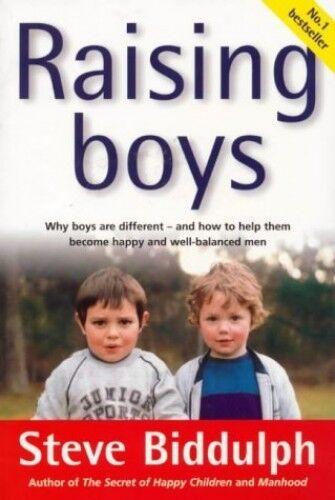 RAISING BOYS by Steve Biddulph 0646314181 The Cheap Fast Free Post