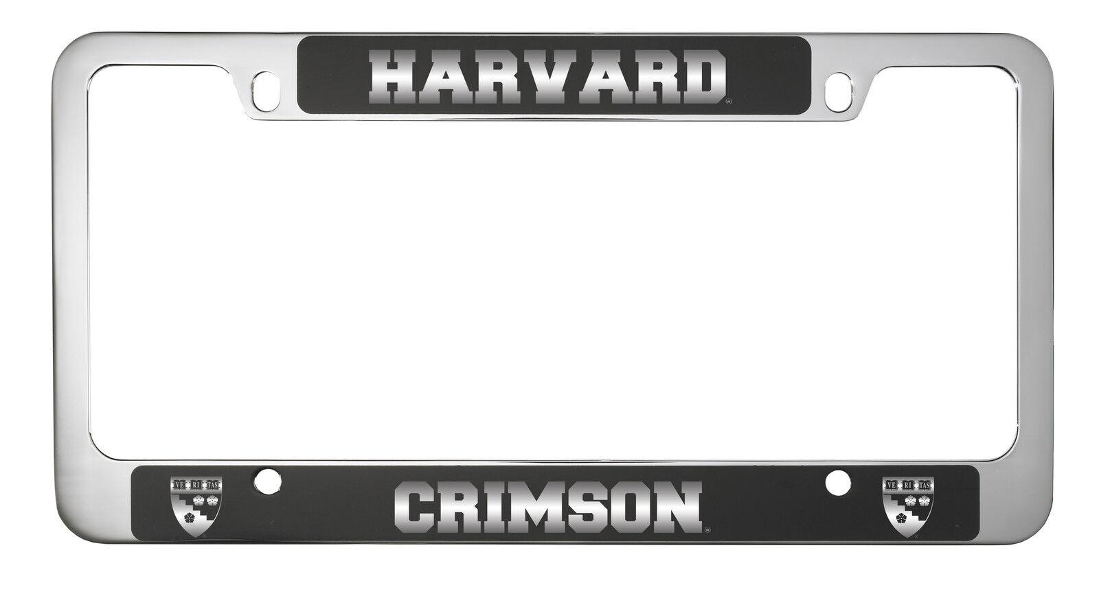 Harvard University -metal License Plate Frame-black | eBay