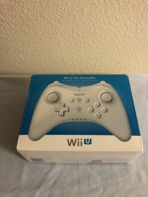 Nintendo Wii U Pro Controller White