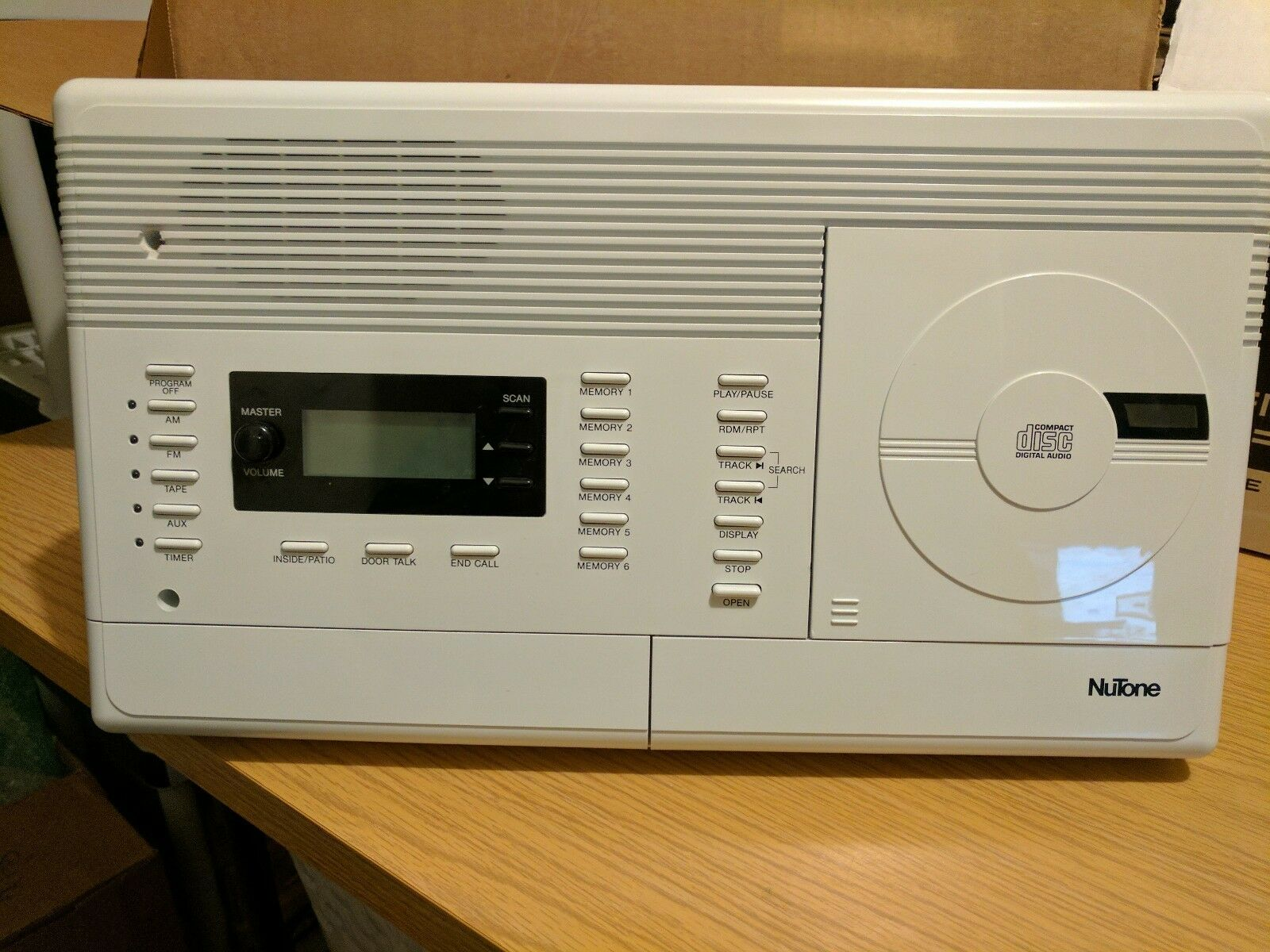 s l1600 nutone master station intercoms & access controls ebay nutone im 4006 wiring diagram at cos-gaming.co