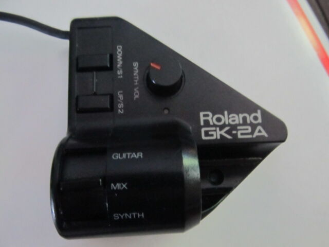 roland gk 2a divided guitar midi pickup with 13 pin cable ebay. Black Bedroom Furniture Sets. Home Design Ideas