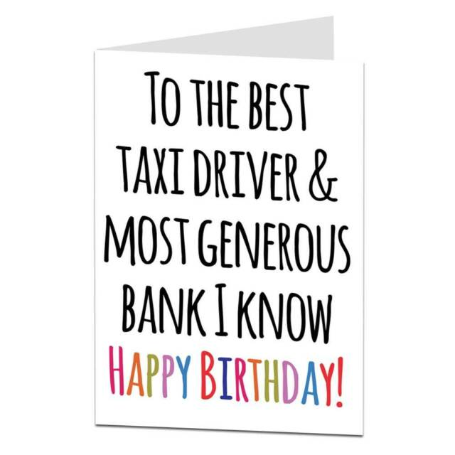 Funny cheeky happy birthday dad card best taxi driver generous funny cheeky happy birthday dad card best taxi driver generous bank bookmarktalkfo Choice Image