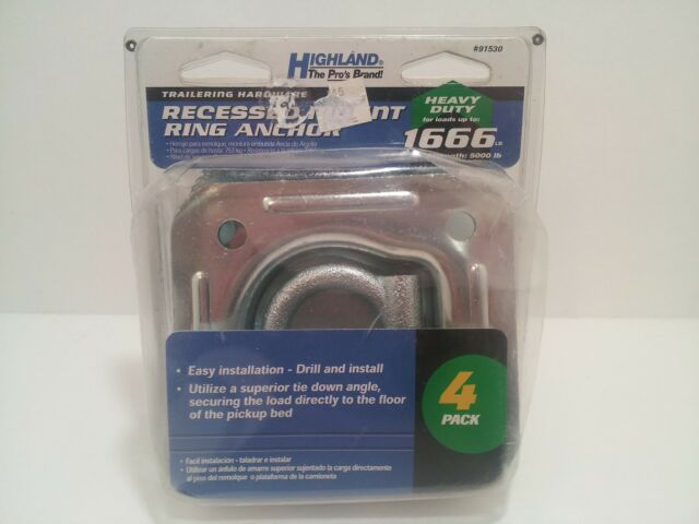 Highland Heavy Duty Recessed Mount Anchor 91530