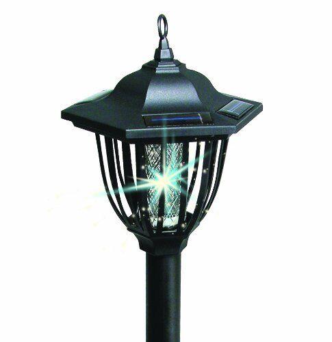 Ideaworks JB6593 2 In 1 Solar Insect Bug Zapper Lantern Light Dual Purpose  | EBay