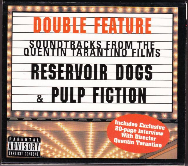 Reservoir Dogs & Pulp Fiction - CD -(2CD) + Interview Booklet MCA MCAD2-11188)