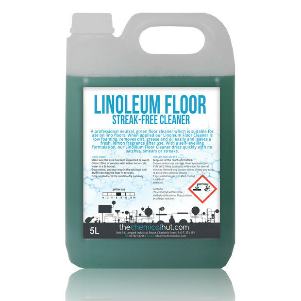 Linoleum Streak Low Foam Lemon Scented Grease Dirt Remover Floor - Professional linoleum floor cleaning