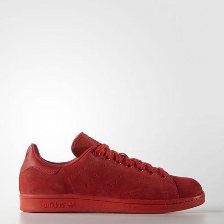 Adidas Originali Stan Smith Uomo Scarpe 13 S75109 Rosso Su Ebay