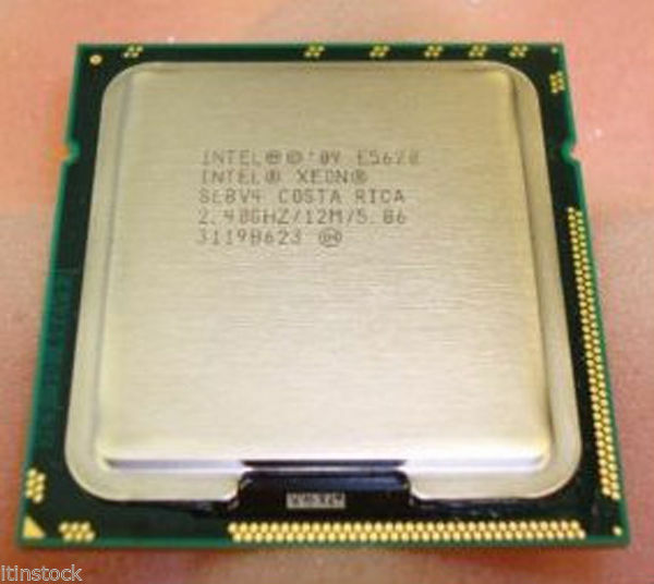 INTEL XEON QUAD CORE PROCESSOR E5620 2.40GHZ 12MB SMART CACHE 5.86GT/S SLBV4 CPU