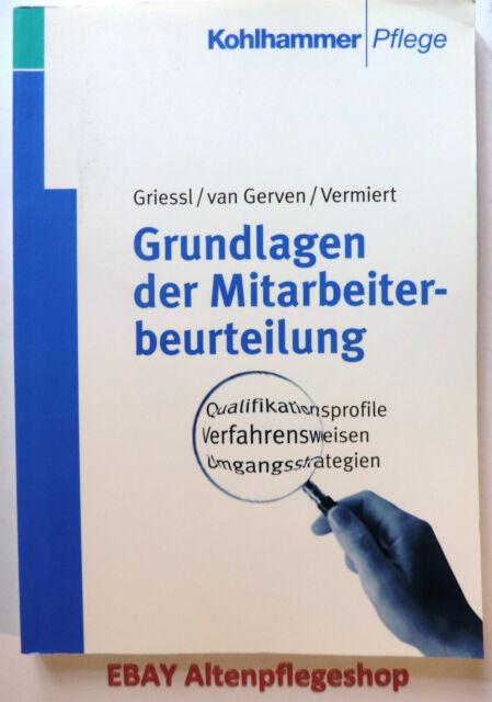 Grundlagen der Mitarbeiterbeurteilung (Kohlhammer Pflege) -> Pflegeberufe