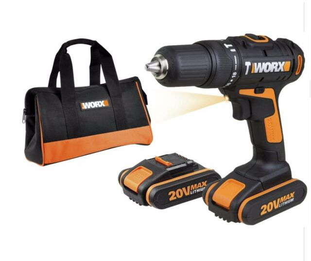 worx 20 li auxiliary handle 2 gear hammer drill 20v the. Black Bedroom Furniture Sets. Home Design Ideas