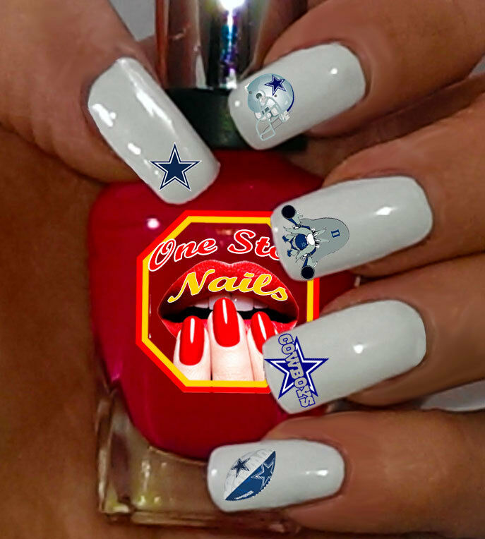 69pcs dallas cowboys nail art decals stickers transfers nfl dc001 brand new lowest price prinsesfo Gallery