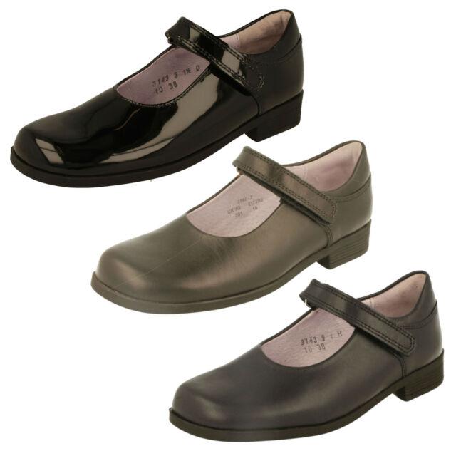 Girls Startrite Touch Fastener Fastening Formalschool Shoes Samba