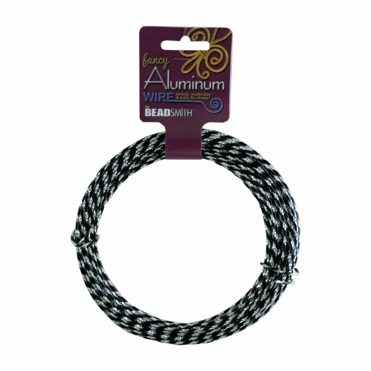 Beadsmith 12m Diamond Cut Aluminum Jewelry Craft Wire 12 Gauge ...