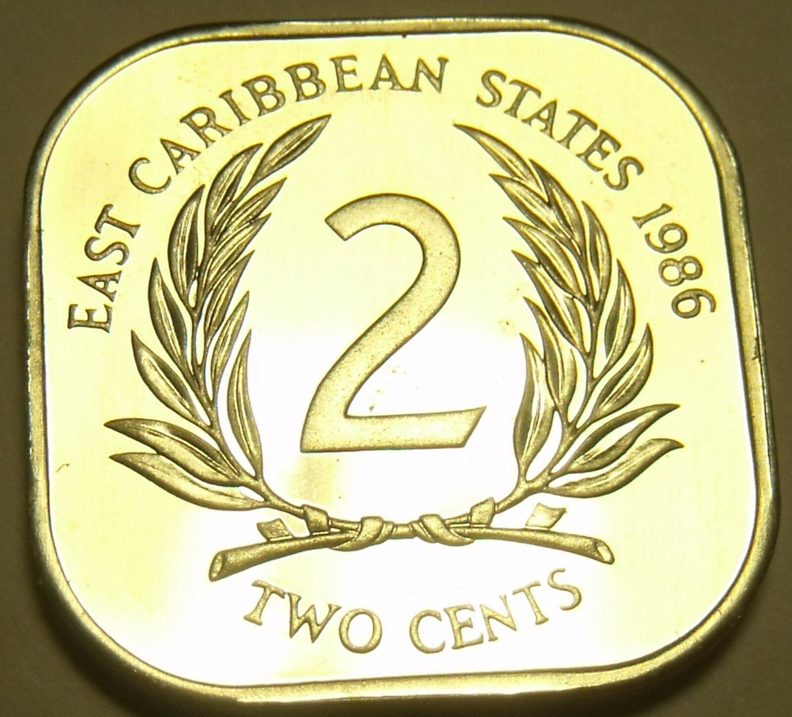 East Caribbean States 2 Cents 1986 Ebay