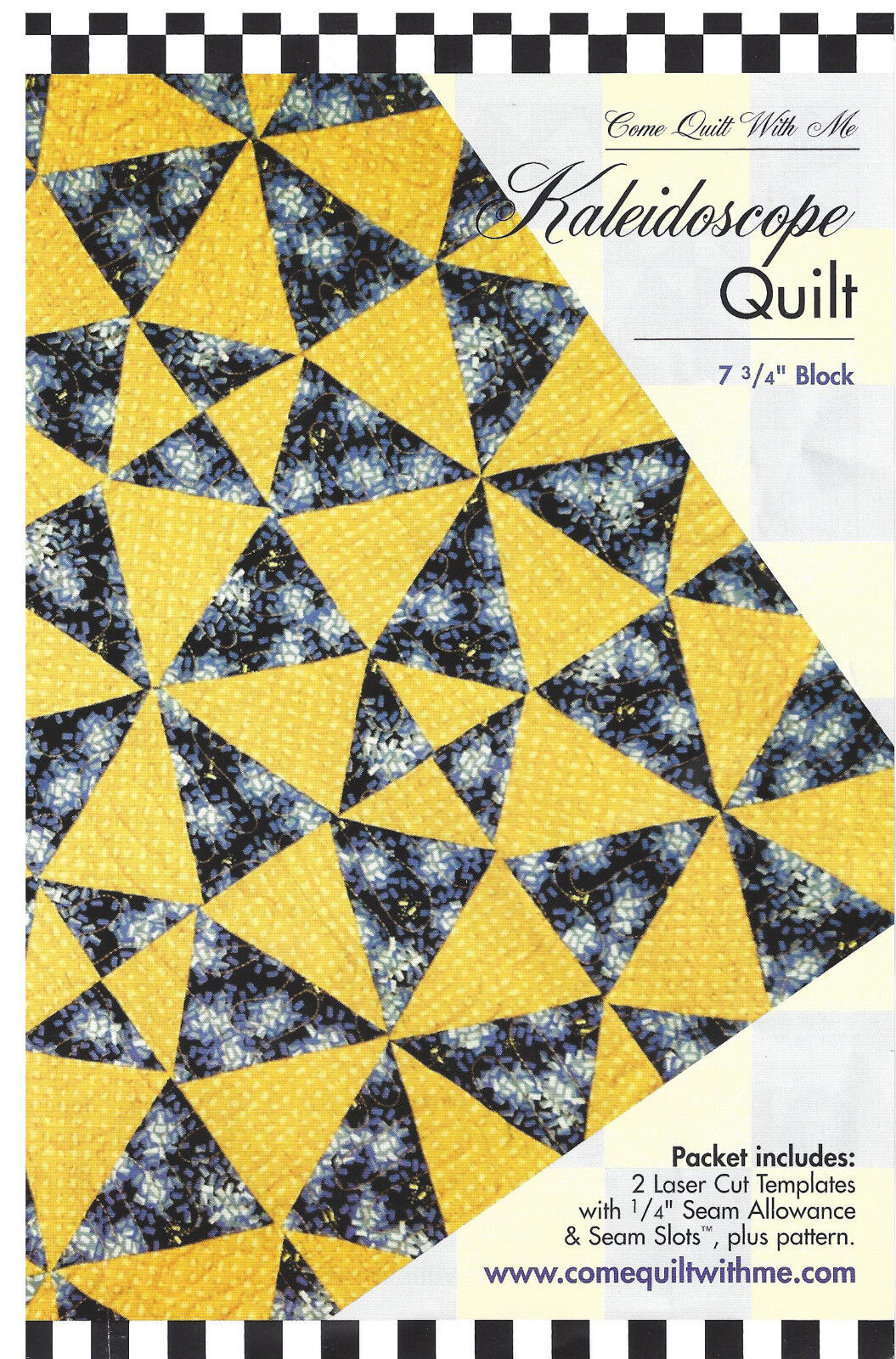 Acrylic Template Kaleidoscope by Come Quilt With Me - 2 Laser Cut ...