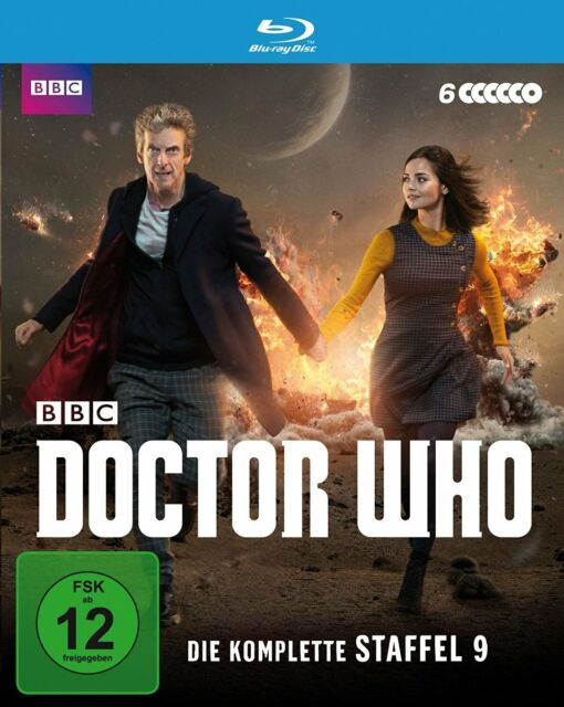 6 Blu-rays * DOCTOR WHO - DIE KOMPLETTE STAFFEL 9 # NEU OVP WVG