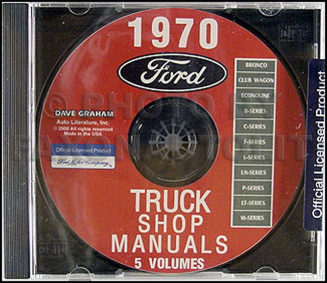 1970 ford truck preliminary shop manual bronco pickup f100 f250 f350 rh ebay com