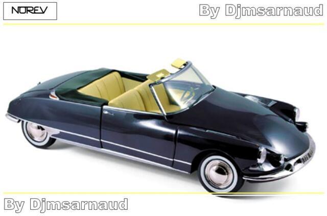 Citroën DS 19 Cabriolet de 1961 Royal Blue NOREV - NO 181564 - Echelle 1/18