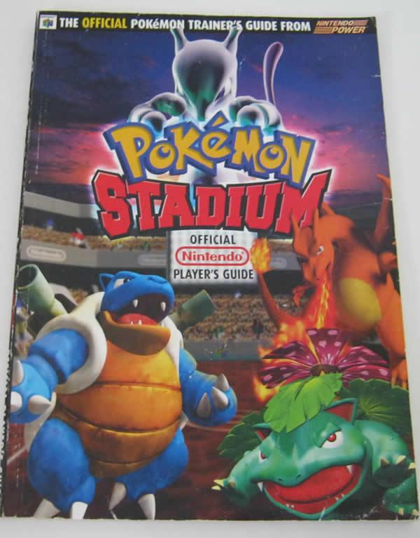 official nintendo pokemon stadium player s guide by nintendo of rh ebay com pokemon stadium guide book pokemon stadium official guide