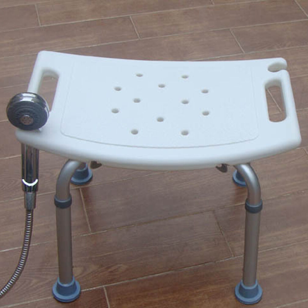 8 Height Adjustable Medical Bath Tub Shower Chair Bench Stool Seat ...
