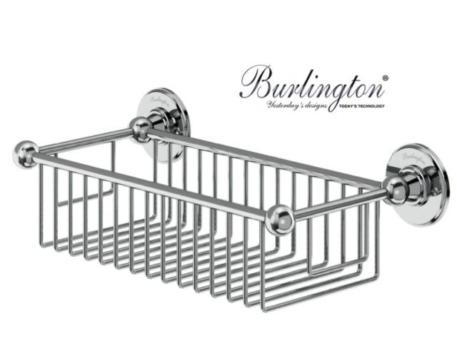 Burlington Bathrooms Deep Wire Basket A23chr