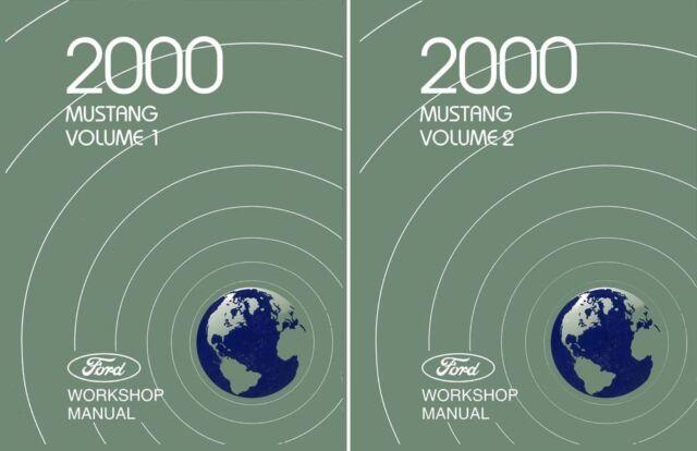 bishko oem repair maintenance shop manual ford mustang 2000 ebay rh ebay com 2000 ford mustang gt owners manual 2000 ford mustang manual