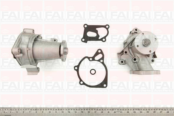 Brand New FAI Water Pump  - WP6202 - 12 Months Warranty!