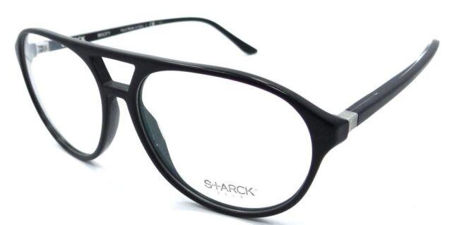 Starck Eyes Mikli RX Eyeglasses Frames Sh3028 0002 57x14 Matte Black ...