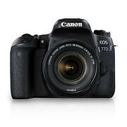 Canon EOS 77D with EF S18-55 IS STM Kit