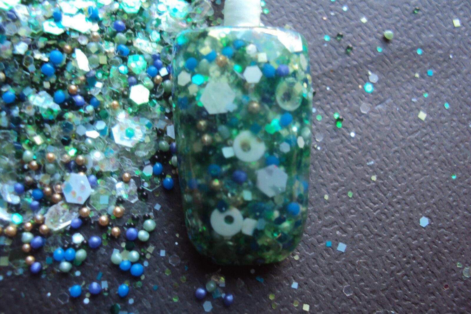 Glitter Mix Nail Art Acrylic GEL Fantasia Limited Edition 13 Made | eBay